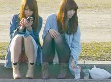 【パンチラ画像】うわぁ…パンツまる見え!!最近の女の子はお股ゆるゆる…プライベートな下着がリアルなパンチラ盗撮画像
