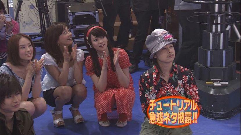 【TVパンチラハプニング】TVに映ってしまった芸能人たちのパンチラ…ガッツリ見えたプライベートっぽい下着がちょー興奮するwww その15