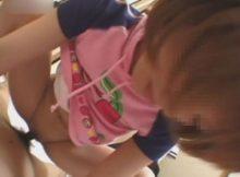 彼氏とのエッチがよすぎて我慢できない!?素人の女の子が着衣のまま淫れるハメ撮り画像