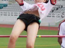 まさに一瞬のきらめき!?女子アスリートたちが競技中に撮られたちょっとエッチなハプニング画像