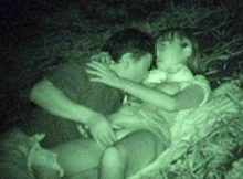"<span class=""title"">夏の間…密を避けるため深夜の公園でエッチしちゃったバカップルがまる見え!赤外線カメラで撮られた青姦エロ画像</span>"